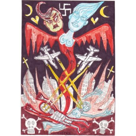 Costes - Adolf et Eva montent au ciel