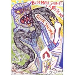Costes - Biteman soumet la serpent
