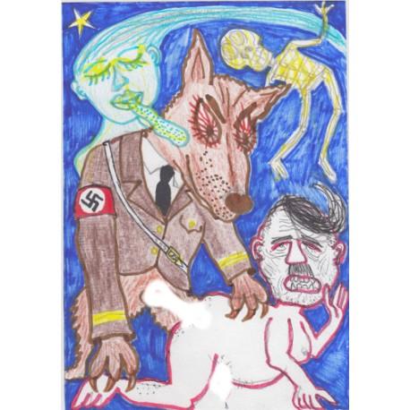 Costes - Blondi baise Adolf