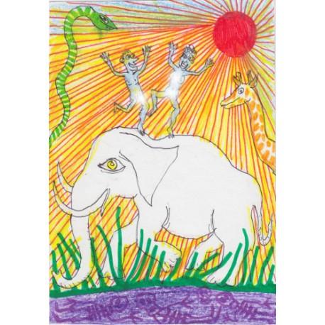 Costes - Danser sur un éléphant