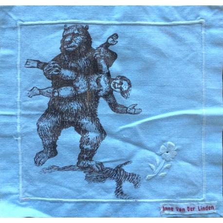 """""""Les plus beaux mouchoirs de Paris"""" - L'ours"""